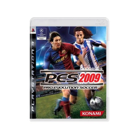 Pro Evolution Soccer 2009 (PES 09) - Usado - PS3