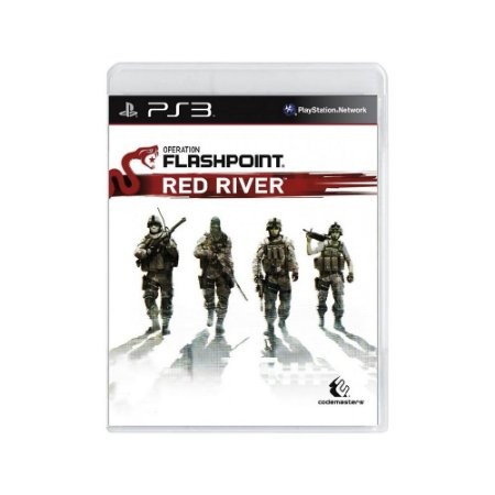 Jogo Operation Flashpoint: Red River - |Usado| - PS3