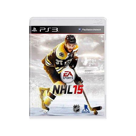 NHL 15 - Usado - PS3