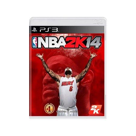 Jogo NBA 2K14 - |Usado| - PS3