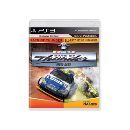 Days of Thunder: Nascar Edition - Usado - PS3