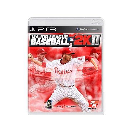 Major League Baseball 2K11 - Usado - PS3