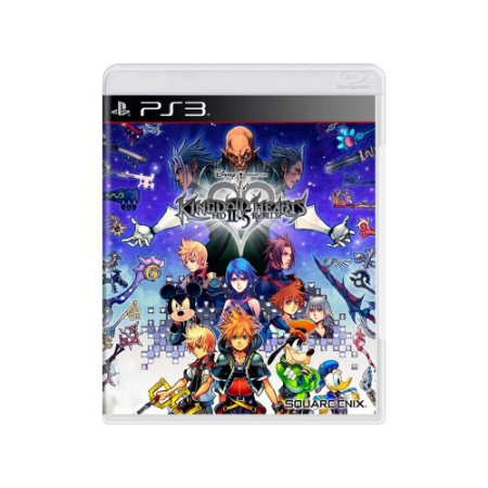 Kingdom Hearts HD 2.5 Remix - Usado- PS3