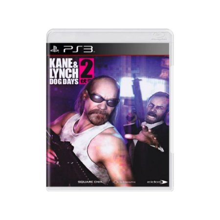 Jogo Kane & Lynch 2: Dog Days - |Usado| - PS3