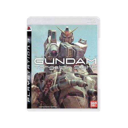 Gundam Target in Sight - Usado - PS3