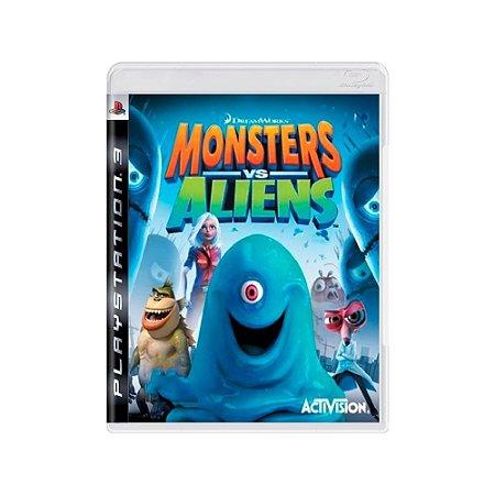 Monsters vs Aliens - Usado - PS3