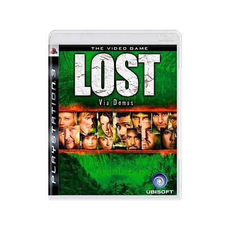Lost: Via Domus - Usado - PS3