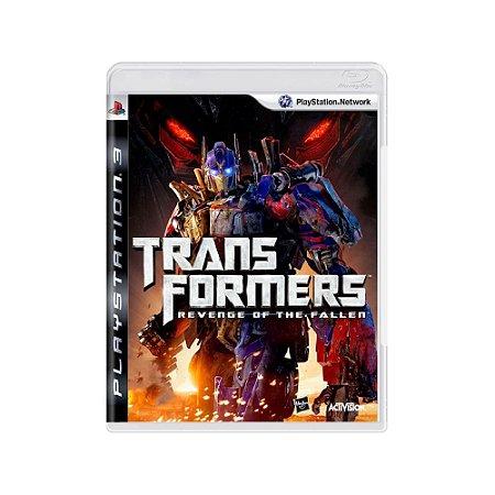 Transformers Revenge Of The Fallen - Usado - PS3