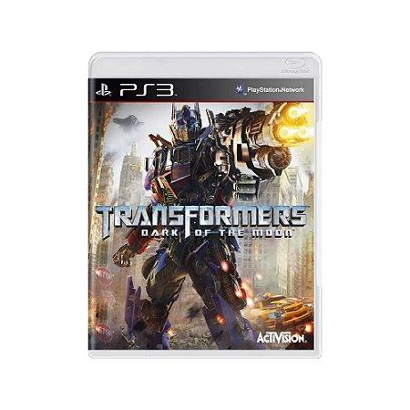 Transformers Dark Of The Moon - Usado - PS3