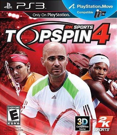 Top Spin 4 - |Usado| - PS3