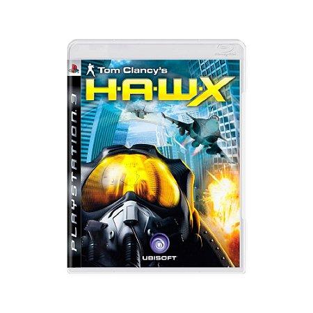 Tom Clancy's H.A.W.X - Usado - PS3