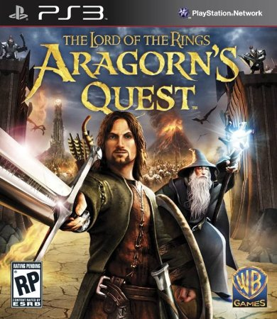 The Lord Of The Rings Aragotns Quest - |Usado| - PS3