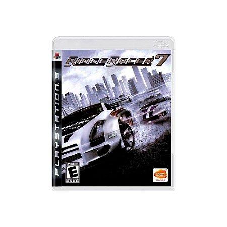 Ridge Racer 7 - Usado - PS3