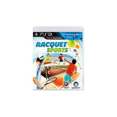 Racquet Sports - Usado - PS3