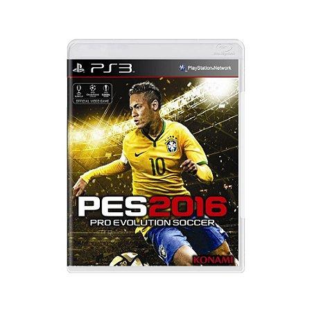 Pro Evolution Soccer 2016 (PES 2016) - Usado - PS3
