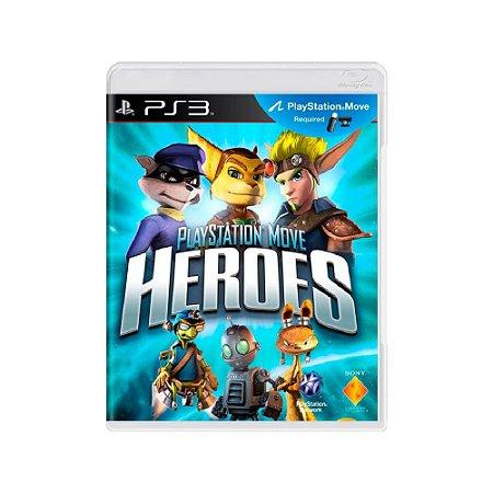 PlayStation Move Heroes - Usado - PS3