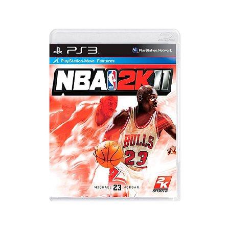 NBA 2K11 - Usado - PS3