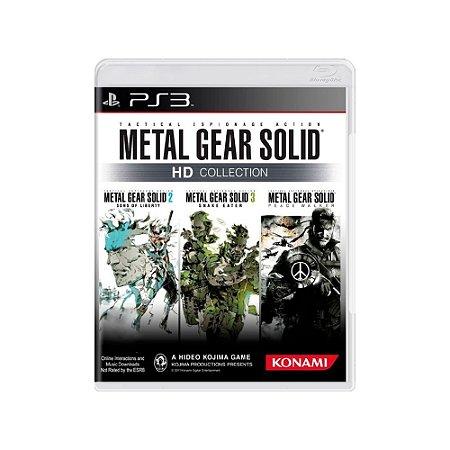 Metal Gear Solid: HD Collection - Usado - PS3