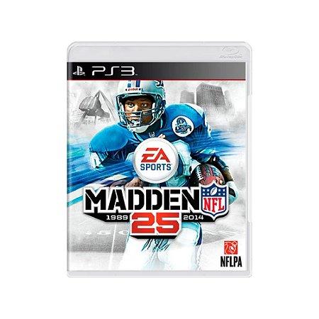 Jogo Madden NFL 25 - |Usado| - PS3