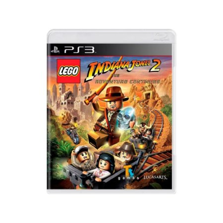 LEGO Indiana Jones 2: The Adventure Continues - Usado - PS3