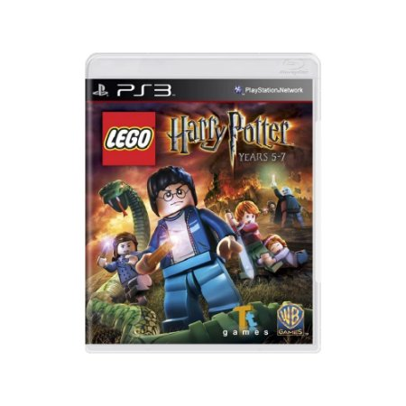 Jogo LEGO Harry Potter: Years 5-7 - |Usado| - PS3