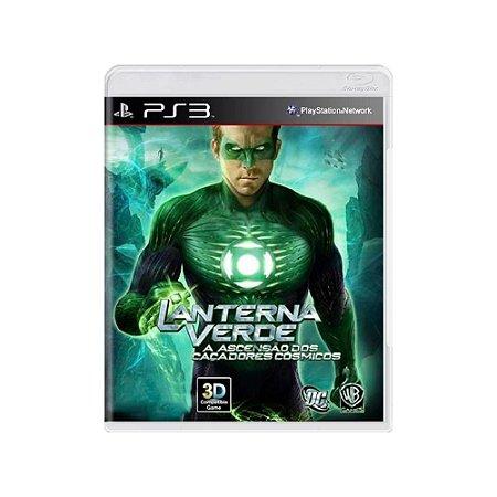 Lanterna Verde Ascensão dos Caçadores Cósmicos - Usado - PS3