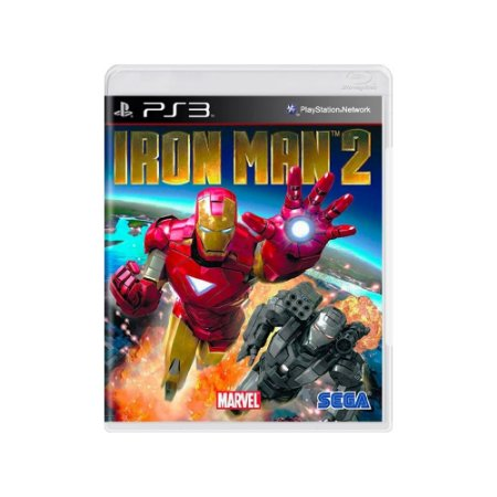Iron Man 2 - Usado - PS3