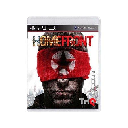 Homefront - Usado - PS3