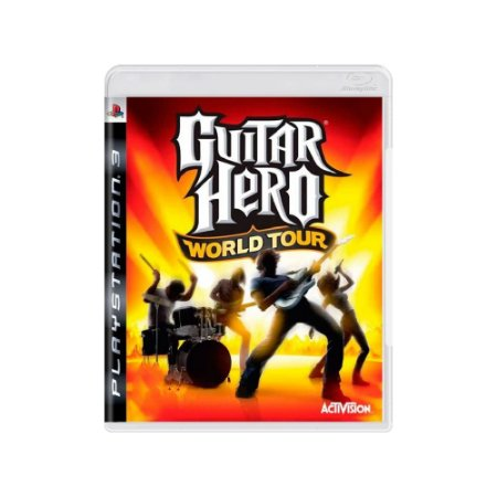 Guitar Hero World Tour - Usado - PS3