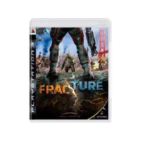 Fracture - Usado - PS3