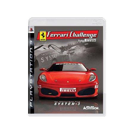 Ferrari Challenge: Trofeo Pirelli - Usado - PS3