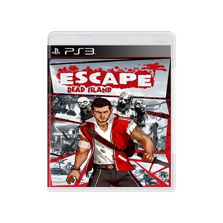 Escape Dead Island - Usado - PS3