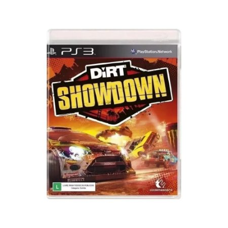 Dirt Showdown - Usado - PS3
