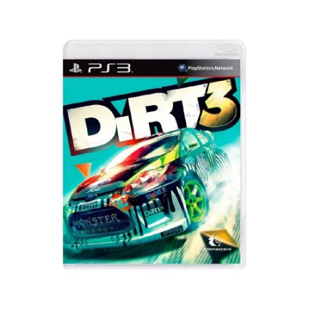 DiRT 3 - Usado - PS3