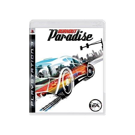 Burnout Paradise - Usado - PS3