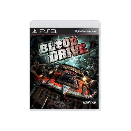 Blood Drive - Usado - PS3