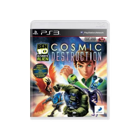 Jogo Ben 10 Ultimate Alien: Cosmic Destruction - |Usado| - PS3
