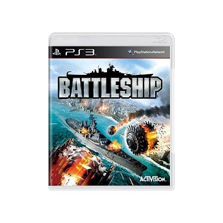 Jogo Battleship - |Usado| - PS3