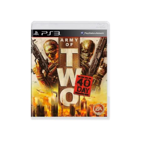 Jogo Army of Two: The 40th Day - |Usado| - PS3