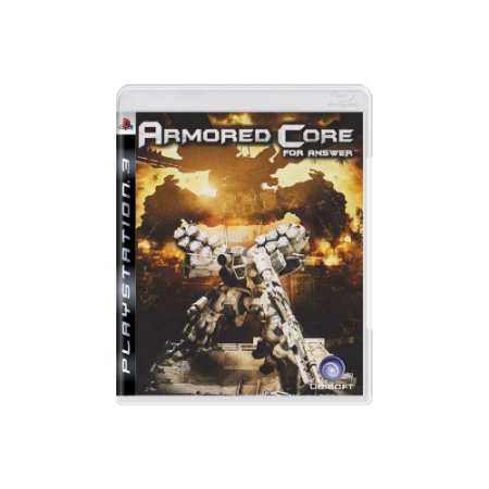 Armored Core: For Answer - Usado - PS3