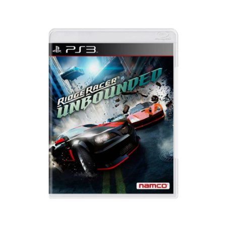 Ridge Racer Unbounded - Usado - PS3
