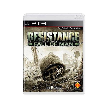 Resistance Fall of Man - Usado - PS3