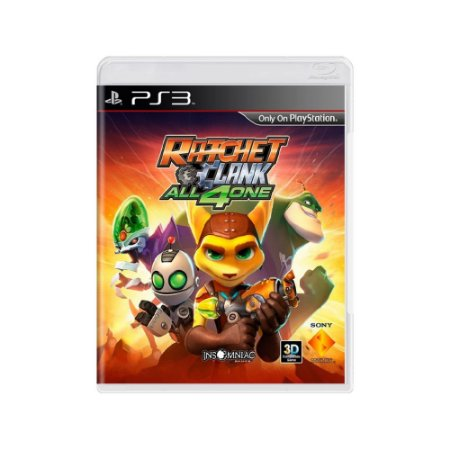 Ratchet & Clank: All 4 One - Usado - PS3