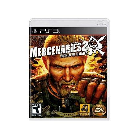 Mercenaries 2: World in Flames - Usado - PS3