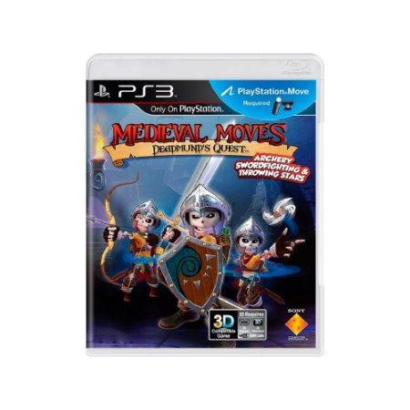 Medieval Moves: Deadmund's Quest - Usado - PS3