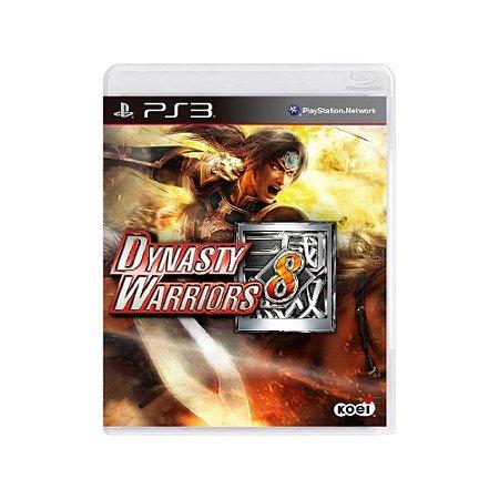 Dynasty Warriors 8 - Usado - PS3