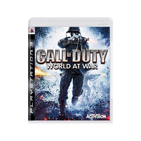 Call of Duty: World at War - Usado -  PS3