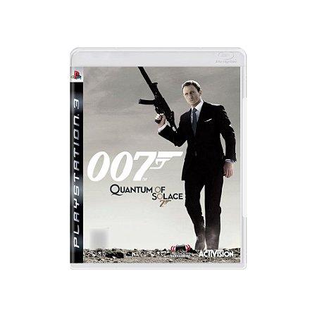 007 Quantum of Solace - Usado - PS3