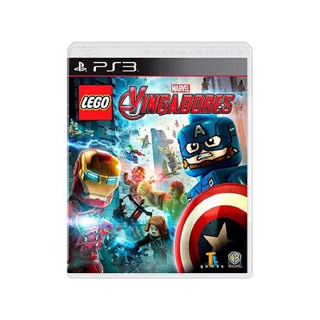 LEGO Marvel Vingadores - Usado - PS3