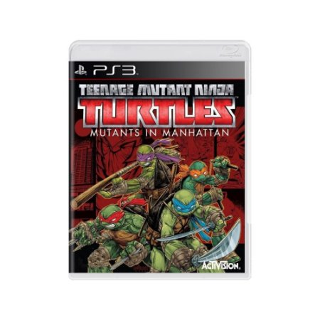Teenage Mutant Ninja Turtles Mutants in Manhattan Usado PS3